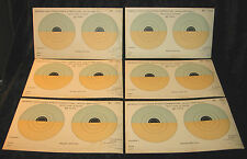 Imperial Challenge Shield Competition Senior 1930's Targets X 6