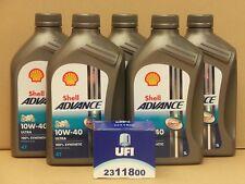 Shell Advance Ultra 4T 10W40 / UFI Ölfilter Ducati 1000 MHR Bj 85 - 86