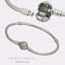 "Authentic Pandora New Sterling Silver Starry Sky Clasp 6.3"" Bracelet 590735CZ-16"