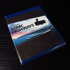 Foo Fighters - Sonic Highways 2015 USA Blu-ray 3-Disc Set NEW Region Code: A *