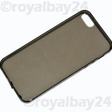 Apple iPhone 5 SE Silikon Tasche grau Staubschutz Hülle case Schutzhülle NEU WoW