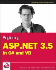 Beginning ASP.NET 3.5: in C# and VB (Programmer to Programmer) By Imar Spaanjaa