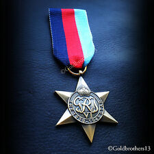 The 1939 - 1945 Star WW2 Military Campaign Medal British Commonwealth...
