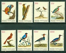 1989 Vatican City Sc# 830-7: Birds of the New World MNH