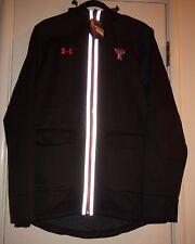 Under Armour 1247432 Texas Tech University Black Cold Gear Infared Zip Up Jacket