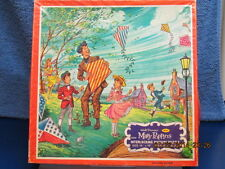 1964 MARY POPPINS SAVING MR. BANKS FLYING KITES 100 + PUZZLE & BOX DISNEY
