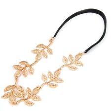 Gold Leaf Head Garland New Fashion Forehead Hair Band Girls Women Accessories
