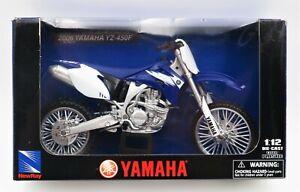 New Ray Toys Yamaha 2006 YZ-450F 1:12 Die-Cast Motorcycle Moto Bike RoadRider