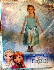 Disguise Inc. Disney Frozen Elsa Halloween Costume Toddler Size 4-6x New