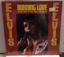 Elvis Burning Love Sealed Record