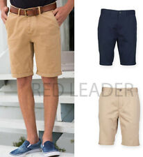 Mens Stretch Chino Shorts Cargo Casual Summer Combat Cotton Smart Fashion FR605