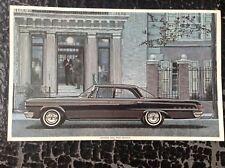 DODGE 880 imprimé vintage rare 1964 illustration Art Voiture Chrysler Berline Noir Big
