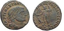 Ancient Rome 307-337 Ad Constantine the Great Thessalonica Jupiter