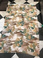 FLORAL NON SHEER SMOOTH  ITALIAN PURE SILK  DRESS FABRIC