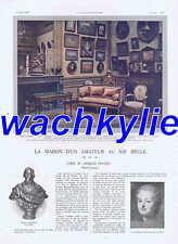 L'illustration n°3614 du 01/06/1912 Jacques Doucet Maroc Libvan Bonaparte Ads
