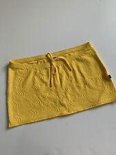 Wicked Weasel Skirt Bikini Cover Up Clubwear Yellow Large
