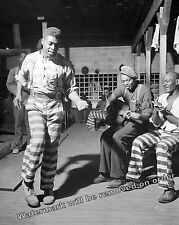Photograph Inmates Dancing  Convict Camp  Greene County, Georgia 1941  8x10