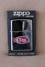 Zippo Lighter      Polished  Chrome  CASE XX