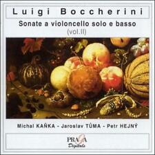BOCCHERINI: SONATAS FOR CELLO AND CONTINUO, VOL. 2 USED - VERY GOOD CD
