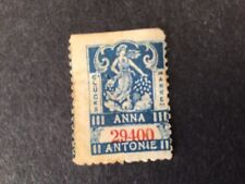 Early Rare European Lottery Stamp Circa 1910-Unusual! #B291 (Postage Combined)