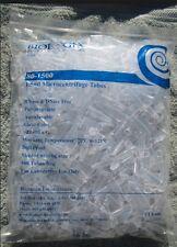 MICRO CENTRIFUGE 1.5 ml TUBES W/ CAP NEW 500 ml  POLYPROPYLENE  BIOLOGIX