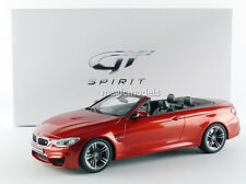 GT Spirit 2015 BMW M4 F83 Cabriolet Orange Met 1/18 Scale LE of 600 New In Stock