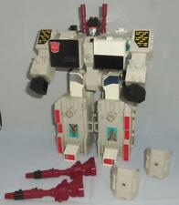 1985 Hasbro Transformers G1 Metroplex Loose Action Figure Some Accessories Parts