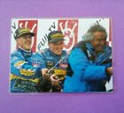 Bild laminiert Michael Schumacher, Herbert, Briatore, Formel 1  1995 Benetton
