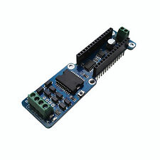 DC Stepper Motor Driver Shield Module L298P 2A Dual Channel For Arduino Nano 3.0