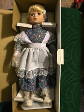 NEW! Heritage Collection Classic Storytime Porcelain Doll Alice in Wonderland