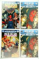 Red Hood and the Outlaws Lot Rebirth #1A(2 copies)DC Universe Rebirth 1A & 2A NM
