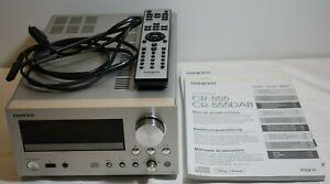 Onkyo CR-555 Cd Receiver. Fernbedienung und Netzstecker.
