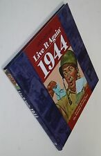NEW Live It Again - 1944 by Annie's Attic Firm Staff 2015 Hardcover History Pics