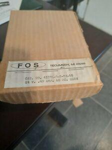 Faraday FOS 24V .4 AMP 60 HZ Horn Cat. no. 6II0L-0-0-24-60