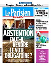 Le PARISIEN ( IDF )n° 22638 bis*18/06/2017**RONALDO*Opéra GARNIER coulisses**NKM