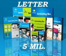 50 Letter Size Laminating Laminator Pouch Sheet 5 Mil 9 x 11-1/2 Quality