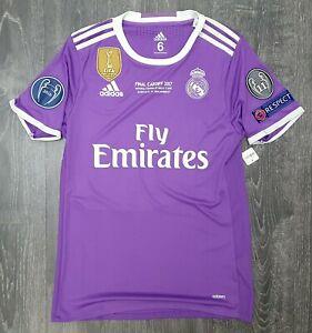 Real Madrid 2016/17 UCL Final Adizero Away Shirt - Casemiro 14