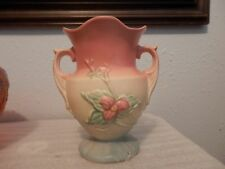 Beautiful Dual Handled Hull Pottery Vase, Made in USA