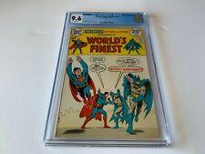 WORLDS FINEST COMICS 221 CGC 9.6 WHITE PAGES BATMAN SUPERMAN DC COMICS 1974