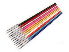 12 Pinsel Set in 12 verschiedenen Farben 7-17