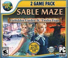 Sable Maze Forbidden Garden & Twelve Fears PC Games Windows 10 8 7 XP Computer