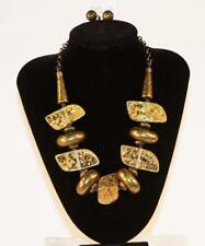 Jewelry Gold Tone Disks Jxfn New Necklace & Earrings Set Premium Fashion