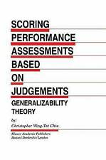 Scoring Performance Assessments Based on Judgements: Generalizability Theory (Ev