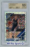 LUKA DONCIC 2019 Panini DONRUSS OPTIC #16 CHECKERBOARD SSP BGS 9.5 GEM MINT w/10