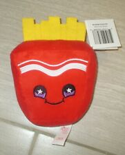 "RUSS MAKE SOMEONE HAPPY SNACKEEZ Frank Fries Stuffed Plush 6"" Toy Doll RUS0198"