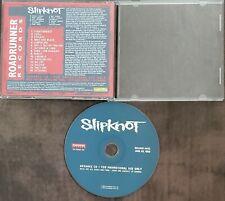 SLIPKNOT S/T CD Advanced Promo Blue CD! RARE! W/ Frail Limb/Nursery RR Promo 403