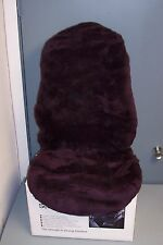BMW Factory Sheepskin Seat Covers, 7 series (E38),1995-2001  (Aubergine Color)