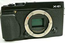 Fujifilm X-E1 16.3MP digital SLR camera body set *black *superb
