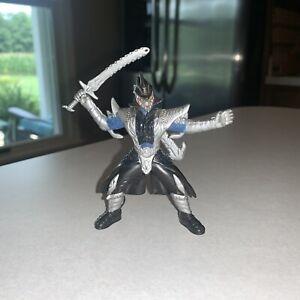 "Power Rangers Ninja Storm Vexacus Figure 4"" Green Samurai Action Playset - RARE!"