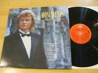 LP Peter Hofmann Monuments London Symphony Orchestra Vinyl CBS 463126 1